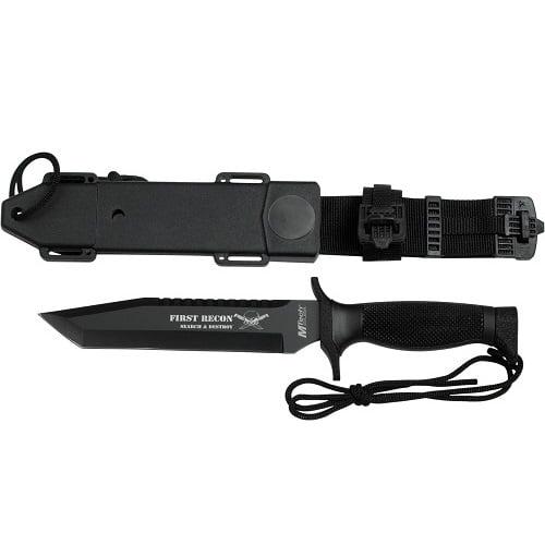 "MTech USA MT-676TB Fixed Blade Knife, 12"""