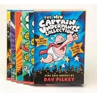 The New Captain Underpants Collection (Books 1-5)