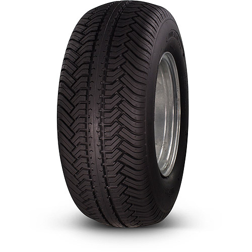 Greenball Towmaster 20.5x8.00-10 12-Ply Bias Trailer Tire and Wheel Assembly 5-on-4.5 Bolt Pattern, Galvanized