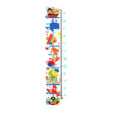 - Growth Height Chart Measure Printed Decal Mural Wall Sticker Wallpaper