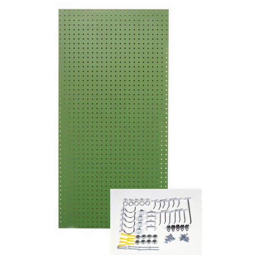 TRITON PRODUCTS TPB-36BKH-Kit Pegboard Kit,Black,48 in. H,24 in. W G3719375