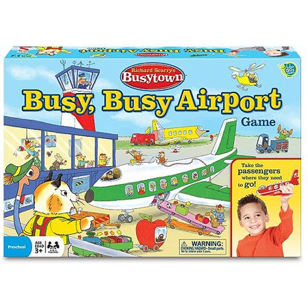 Wonder Forge Richard Scarry's Busytown Busy, Busy Airport Game