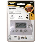 Powerzone TNID7111 Timer, 8 A, 24 hr Time Setting
