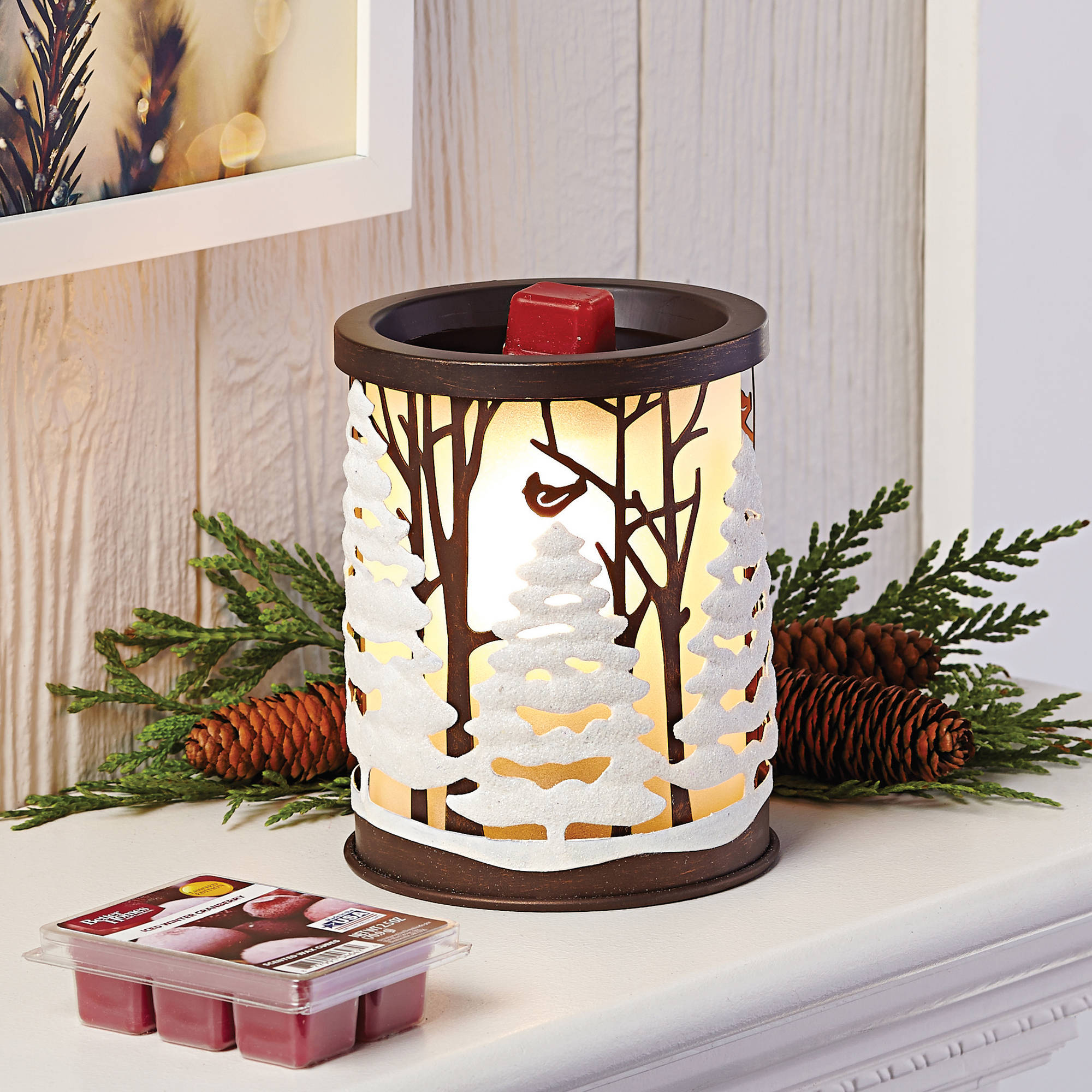 Better Homes and Gardens Forest Scene Wax Warmer