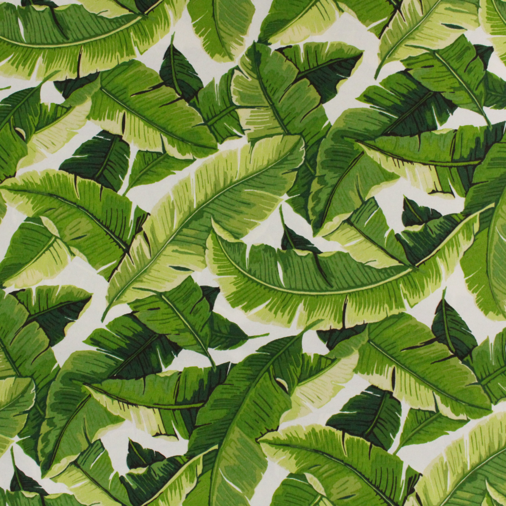 """Berkshire Home Polyester 54"""" Indoor/Outdoor Bali Palm Fabric, per Yard"""