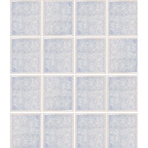 Epoch Architectural Surfaces Oceanz 3'' x 3'' Glass Mosaic Tile in White