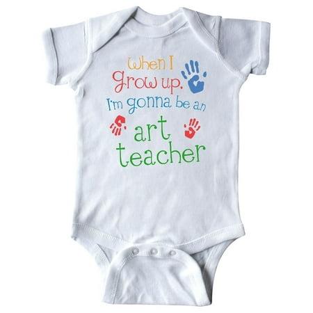 Art Teacher Future Infant Creeper