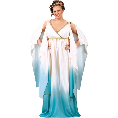 Greek Goddess Adult Plus Halloween Costume, Size: 16W-20W - One Size