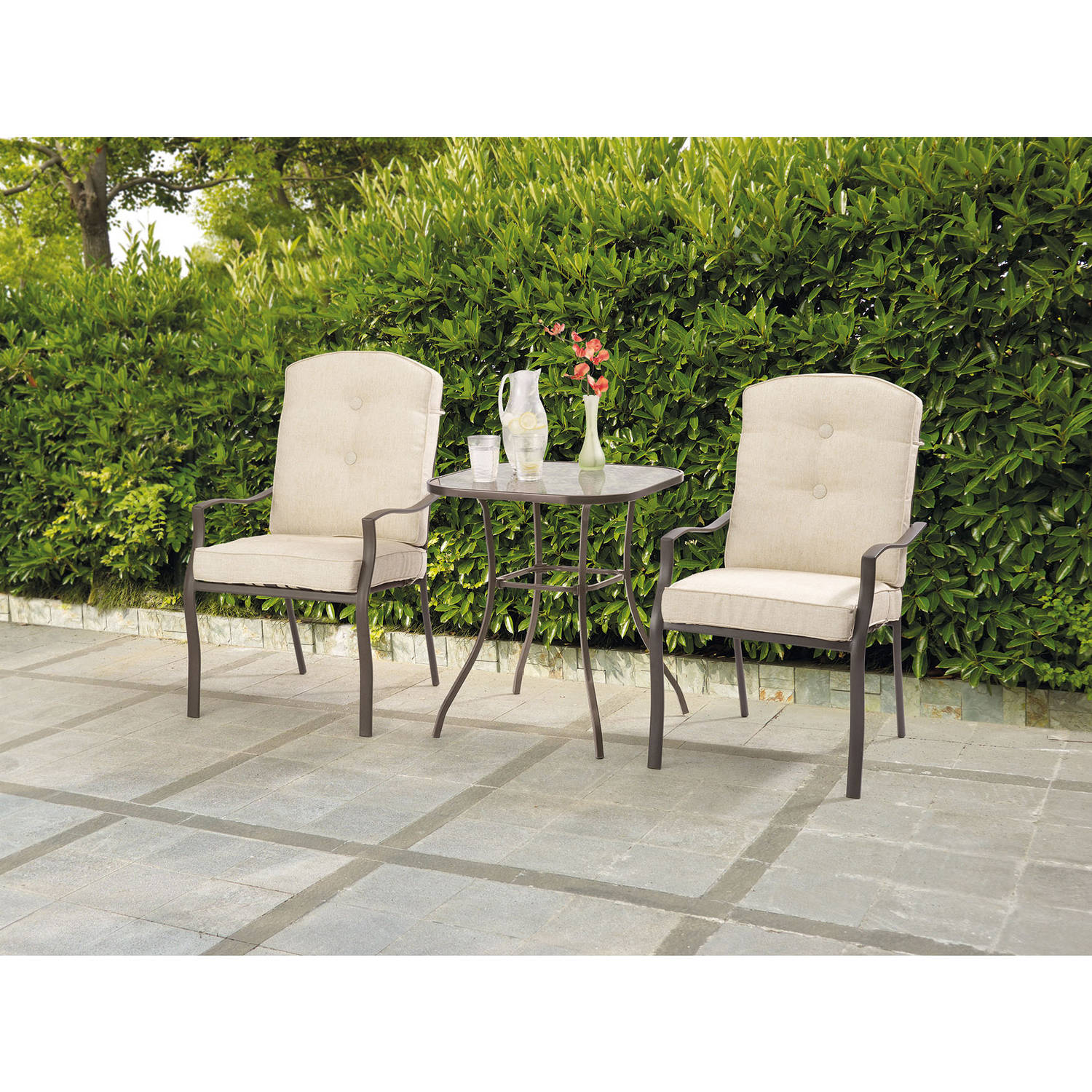 Mainstays Ashwood Heights 3-Piece Bistro Set