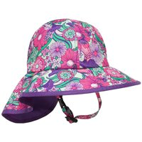 0ce5ab42dc41b Product Image Sunday Afternoons Kid s Play Neck Cape Sun Hat - Small Baby -  Flower Garden
