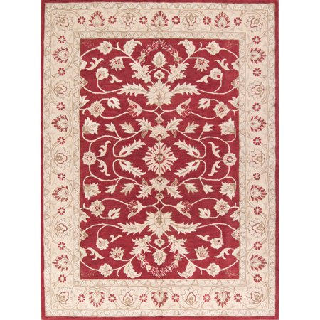 RugSource Hand-Tufted Traditional Floral Oushak Large Area Rug 10x13 ()