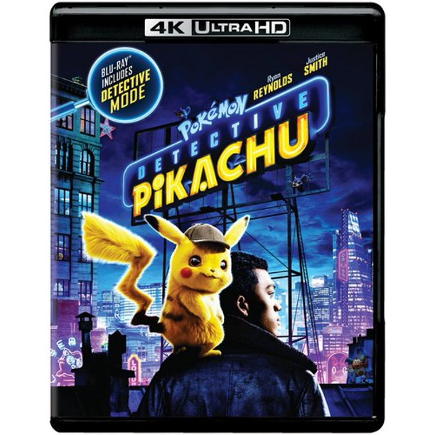 Pokemon Detective Pikachu (4K Ultra HD + Blu-ray)