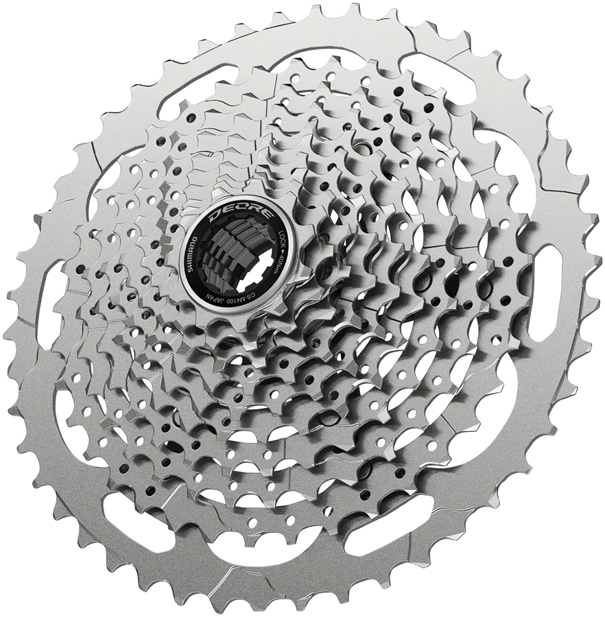 Shimano Deore CS-M4100-10 Cassette Silver 11-46t 10-Speed