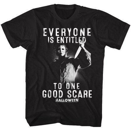 Best Horror Film To Watch For Halloween (Halloween Scary Horror Slasher Film Movie Entitled One Good Scare T-Shirt)