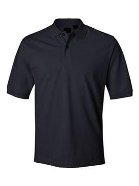 HONDA Logo Left Chest Black Polo Shirts Embroidered Sizes S-4XL Black Non Iron