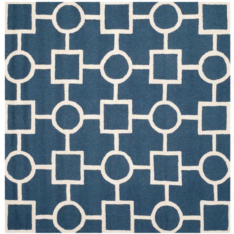 Safavieh Cambridge 6' Round Hand Tufted Wool Rug - image 5 of 7