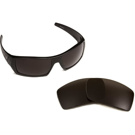 Sterling Silver Sunglasses - Gascan Replacement Lenses by SEEK OPTICS to fit OAKLEY Sunglasses