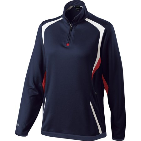 Holloway Lds Transform Pullover Nv/Sc/Wh Xs - image 1 of 1