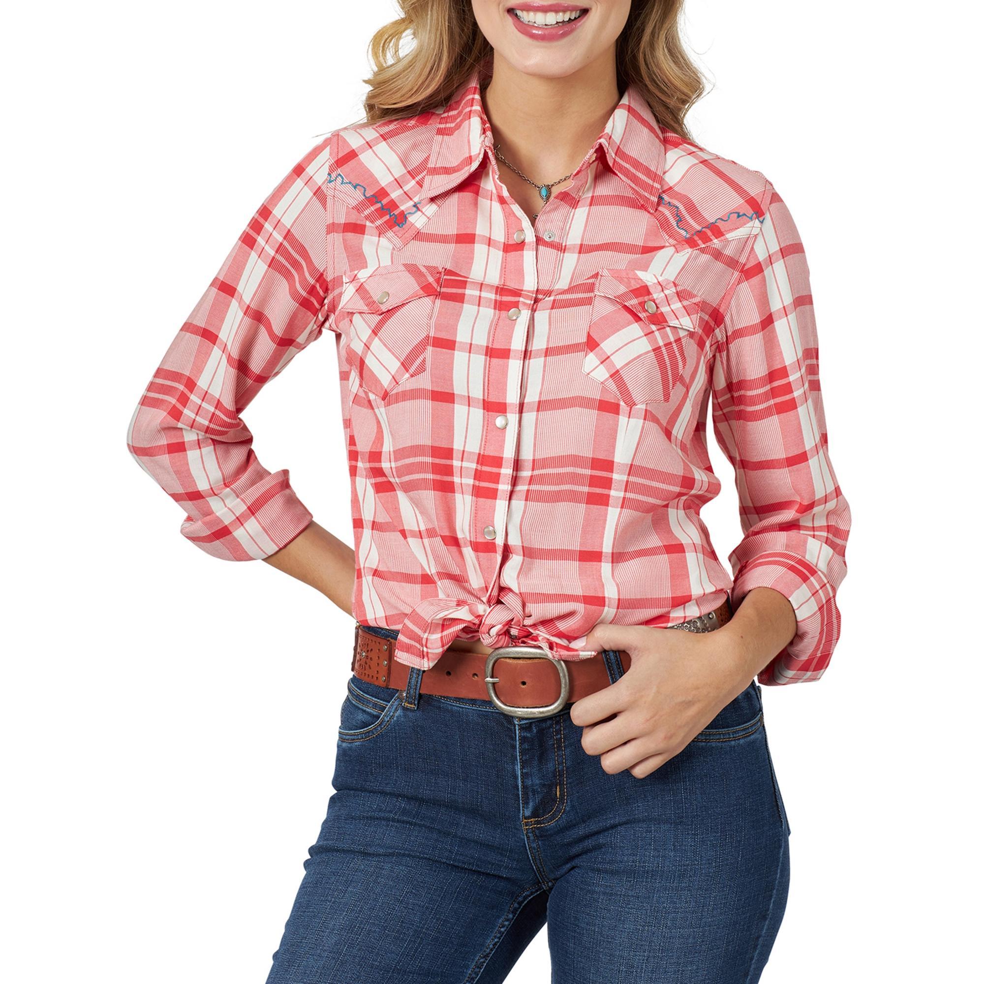 Wrangler  Wrangler Women's Retro Western Snap Shirt