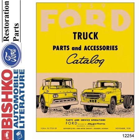Truck Oem Parts Cd - Bishko OEM Digital Repair Maintenance Parts Book CD for Ford Truck All Models 1959