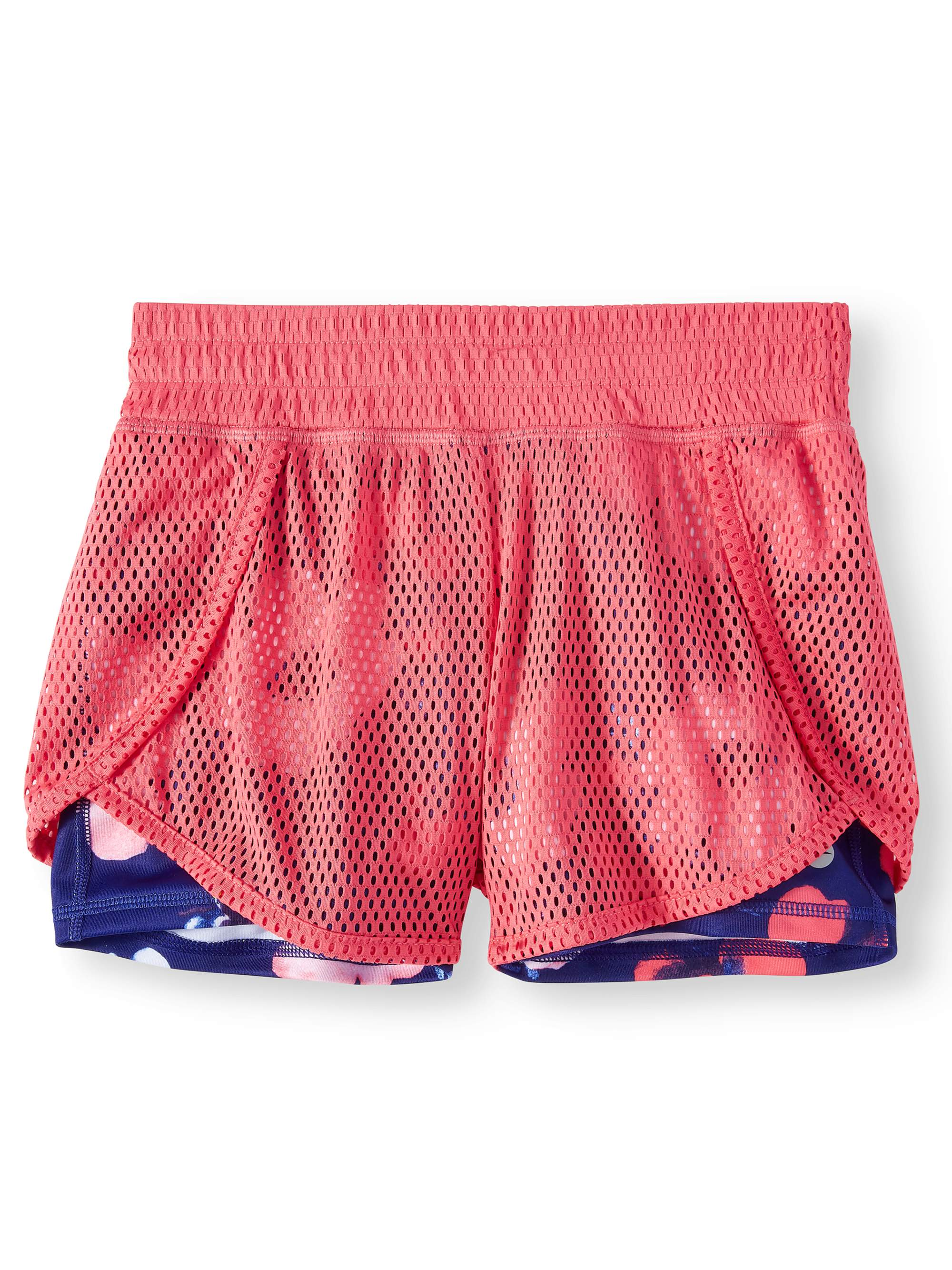 Mesh 2-fer Active Short (Little Girls & Big Girls)