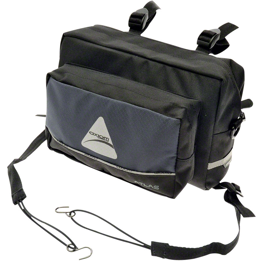 Axiom Atlas 4.5 Handlebar Bag: Black