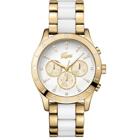 Women's Charlotte Gold Tone Multifunction Watch 2000963 (Watches Lacoste)