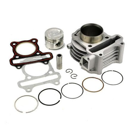 50cc Cylinder Kit compatible with TaoTao: Speedy 50, EVO 50, Cruiser 50,  New Speedy 50, VIP 50, Thunder 50, Zummer 50, Venus 50, Magic 50, Milano  50,