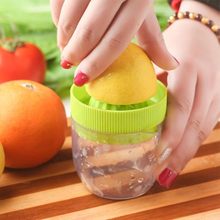 Jeobest 1PC Manual Juicer - Citrus juicer - Lemon Juicer - Squeezer Juicer - Manual Press Juicer - Eco Friendly Material Lemon Squeezer Manual Citrus Press Juicer Mini Juice Tool MZ