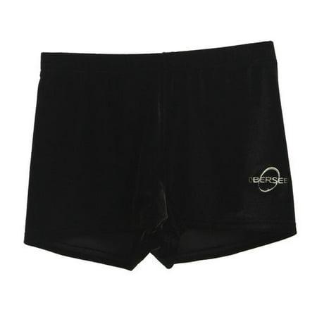 3afda70d285b Obersee - Gymnastics Shorts - Black Velvet - Walmart.com