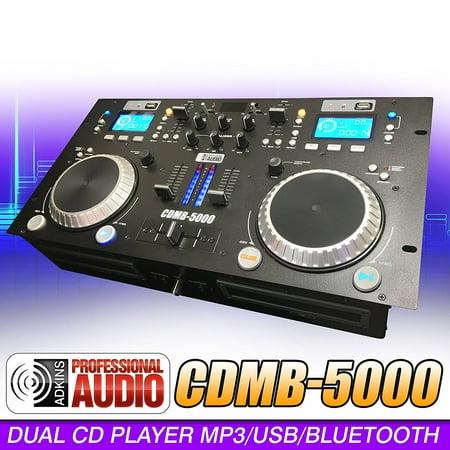 dj cd player dj mixer combo cdmb 5000 dual media player mixer combo cd usb mp3. Black Bedroom Furniture Sets. Home Design Ideas