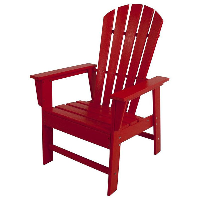 POLYWOOD�� South Beach Recycled Plastic Adirondack Chair