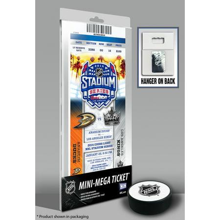 2014 NHL Stadium Series Mini-Mega Ticket - Ducks vs (Ducks Ticket)