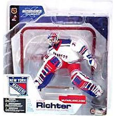 Mcfarlane Nhl Sports Picks Series 4 Mike Richter Action Figure  White Jersey
