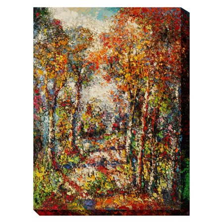 West Of The Wind Forest Outdoor Wall Art