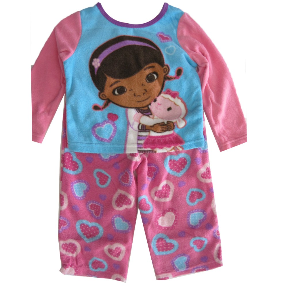 Disney Jr. Little Girls Pink Blue Doc McStuffins Sheep 2 ...
