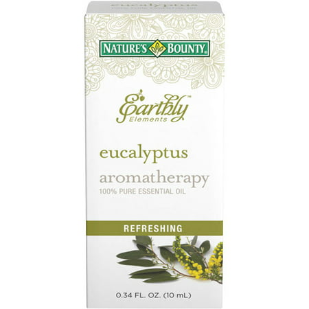 Nature's Bounty® Earthly Elements Eucalyptus Essential Oil, 0.34 Fl Oz.
