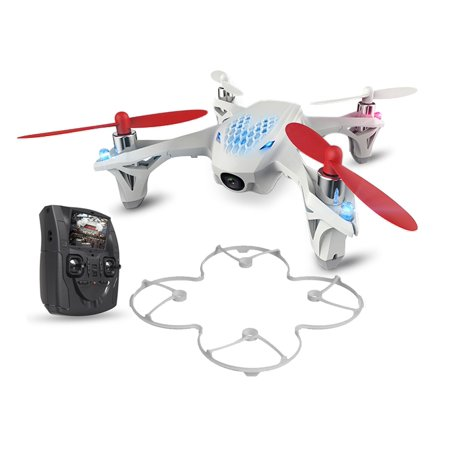 hubsan x4 h107d fpv mini rc quadcopter drone with live video feed lcd (Best Quadcopter Transmitter 2019)