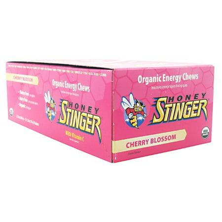 Honey Stinger Energy Chews Cherry Blossom -- 12 Chews
