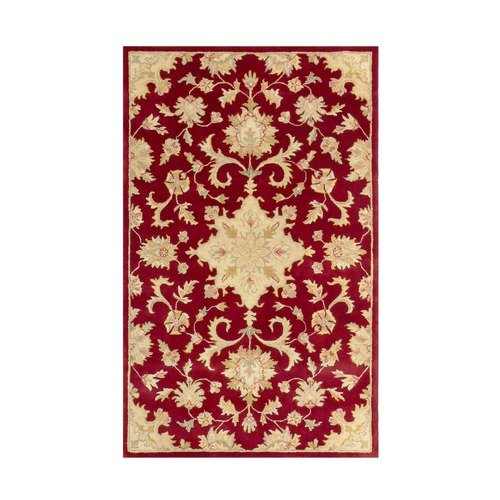 MevaRugs Joyce Red Area Rug