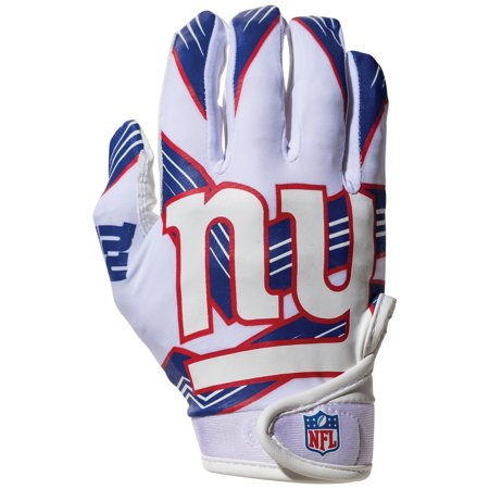 brand new 6ce93 b24aa Franklin Sports NFL New York Giants Youth Football Receiver Gloves