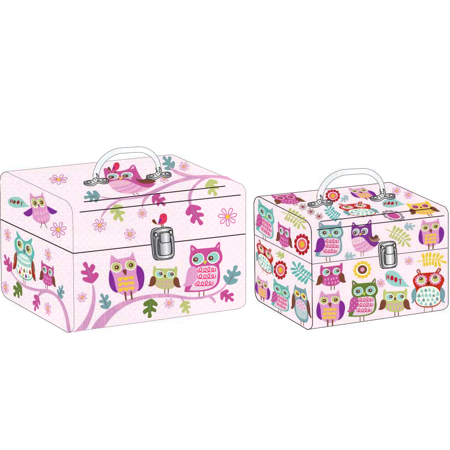 Tricoastal Design- Set Of 2 Train Cases Out On A Limb - Limb Set