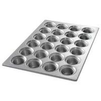 CHICAGO METALLIC 43026 Large Crown Muffin Pan,24 Moulds