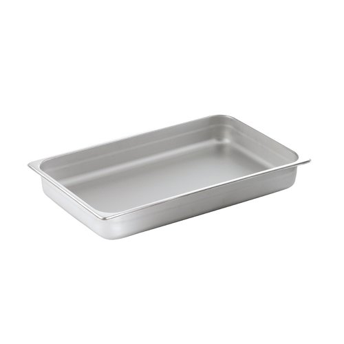 SMART Buffet Ware Full Size Oblong Stainless Steel Food Pan