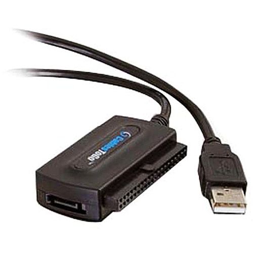 Cables To Go 30504 USB 2.0 to IDE/Serial ATA Drive Adapter