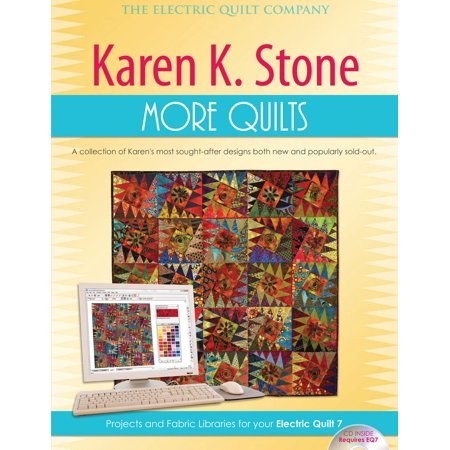 Karen K. Stone More Quilts (Electric Quilt 5 Software)