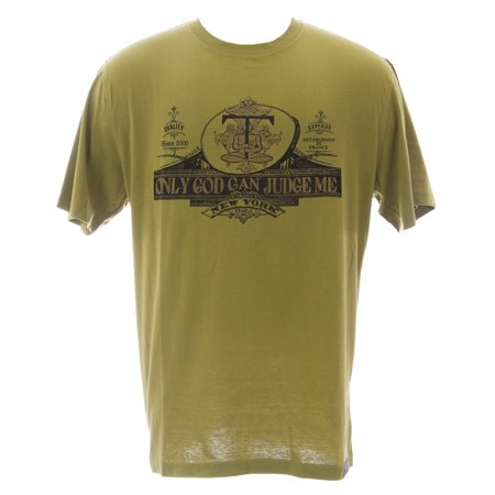 THUG Men's Bronze Green Guaranteed Fresh Cotton Crew Neck Shirt #12307 NEW