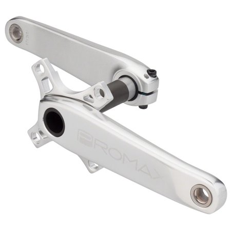 Promax HF-2 Hollow Hot Forged 2 Piece Crank 24 x 175mm Silver