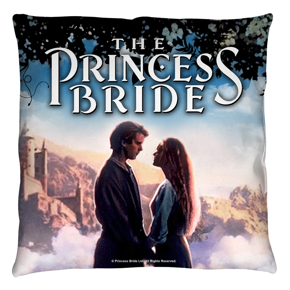 The Princess Bride Storybook Love Throw Pillow White 20X20
