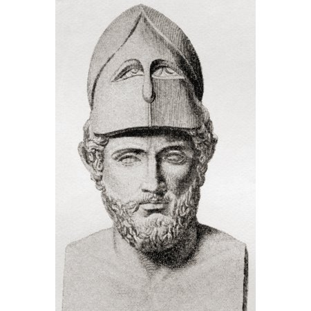 Pericles C 495 To 429 Bc Greek Statesman Orator And General Of Athens From The Book Harmsworth History Of The World Published 1908 Canvas Art - Ken Welsh  Design Pics (11 x 18)](Halloween History Pics)